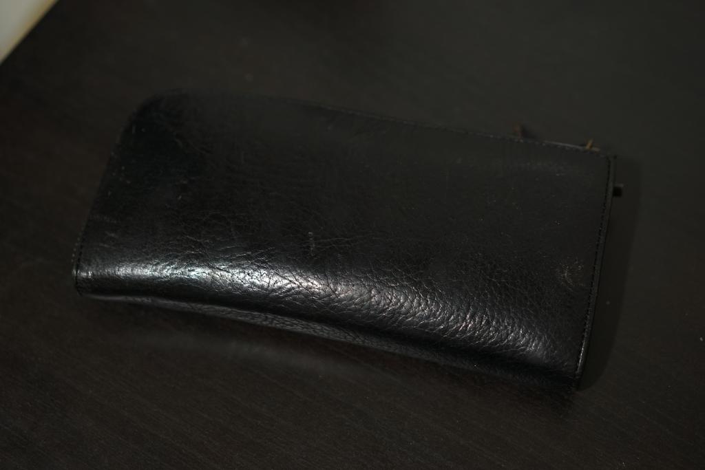 財布を置いて出かけたい。